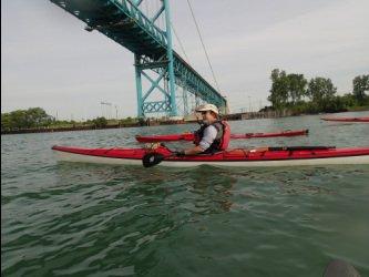 Detroit to Wyandotte Paddle