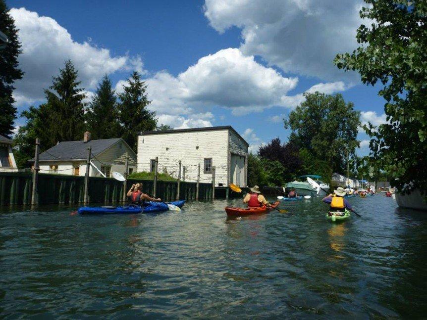 Detroit Historical Canal Tour