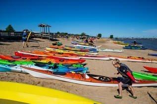 PAKS Kayak Beach Storage