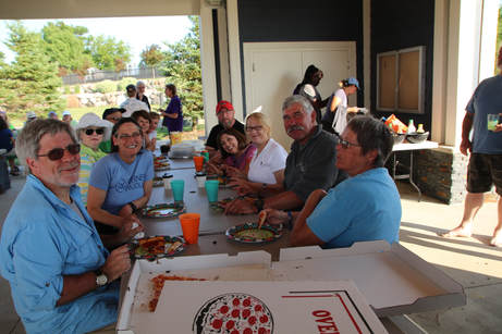 Pizza Veterans Park