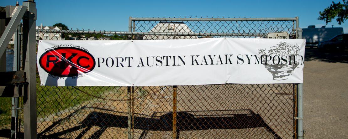 Port Austin Kayak Symposium Banner