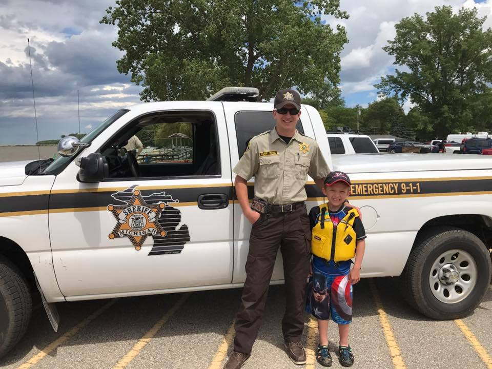 Huron County Sheriff Kayak Safety Check
