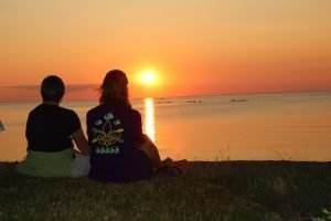 Sunset on Lake Huron